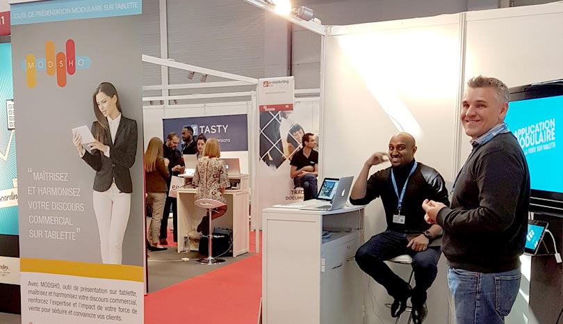 Retour sur notre présence au salon e-marketing Paris 2017