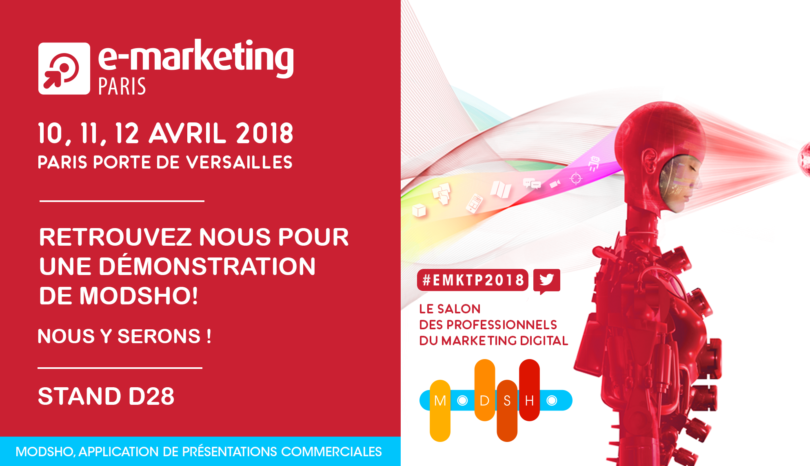 Modsho au salon eMarketing Paris 2018