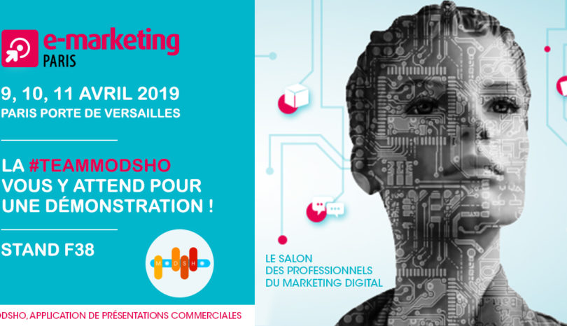 La #TeamModsho vous attend au salon eMarketing Paris 2019