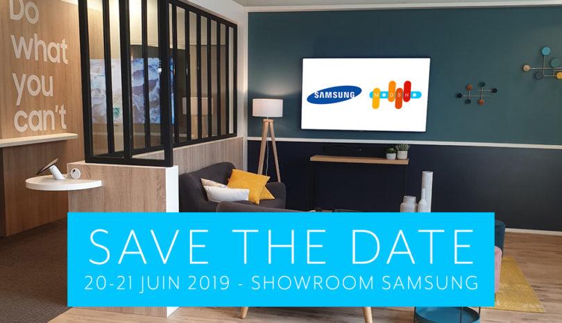 Les petits déjeuners MODSHO au showroom Samsung